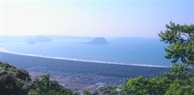 虹松原的风景