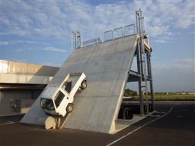 전락·실족 구조 훈련 시설