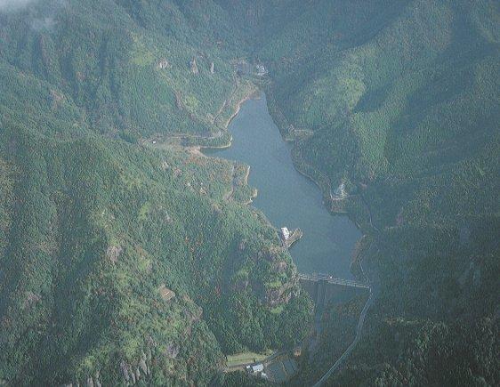Longmen dam