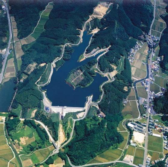 都川内水坝