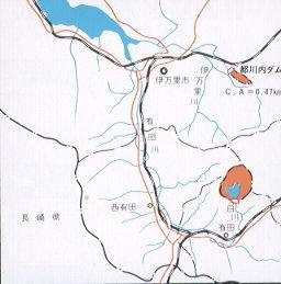 쓰카와 내 댐