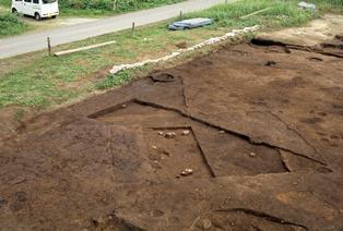 照片:弥生时代后半期的隐蔽壕