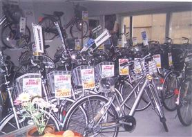 Kaebuchi cycle store photograph