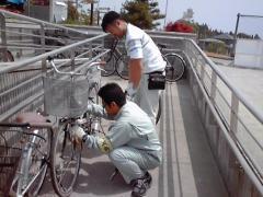 Photograph: Bicycle repair