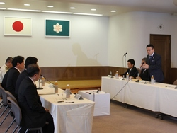 Visit of Minister of Defense Onodera