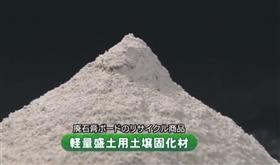 The soil solidification agent