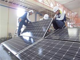 太陽光設備實習