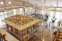建築技術、設計科實習棟的照片
